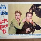 FS28 Let's Face It BETTY HUTTON/BOB HOPE Lobby Card