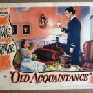 GA46 Old Acquaintance BETTE DAVIS 1943 Lobby Card