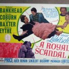 FS34 Royal Scandal TALLULAH BANKHEAD Title Lobby Card