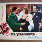 FT29 MR. SKEFFINGTON BETTE DAVIS /CLAUDE RAINS Lobby card