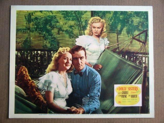 FW18 Dolly Sisters BETTY GRABLE/ JOHN PAYNE Lobby Card