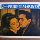 FT32 PRIDE OF THE MARINES JOHN GARFIELD/ ELEANOR PARKER Lobby card