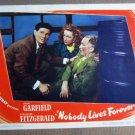 FZ18 Nobody Lives JOHN GARFIELD/G FITZGERALD Lobby Card
