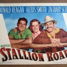FW41 Stallion Road RONALD REAGAN Portrait Lobby Card