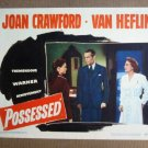 FT31 POSSESSEDJOAN CRAWFORD/RAYMOND MASSEY Lobby card