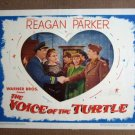 FU48 Voice Of Turtle RONALD REAGAN/E PARKER Lobby Card