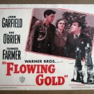 FV13 Flowing Gold JOHN GARFIELD/FRAN FARMER Lobby Card