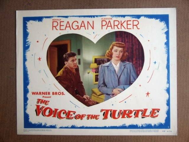 FT49 VOICE OF THE TURTLE RONALD REAGAN/ELEANOR PARKER Lobby card