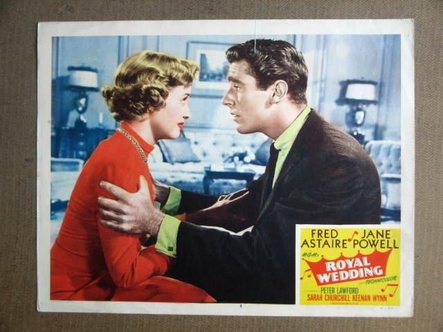 FU39 Royal Wedding JANE POWELL/PETER LAWFORD Lobby Card