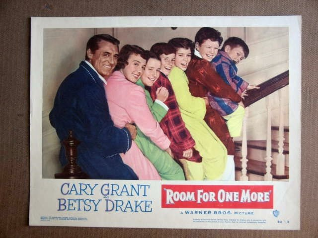 FT36 ROOM FOR ONE MORE CARY GRANT/BETSY DRAKE Lobby card
