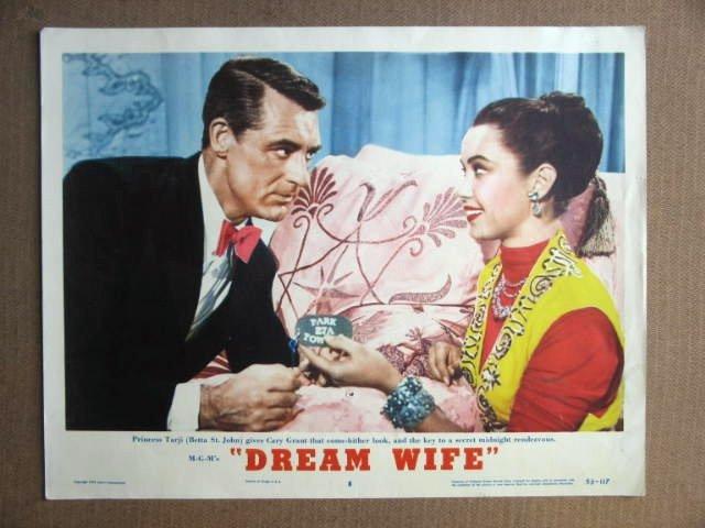 FR15 Dream Wife CARY GRANT 1953 Portrait Lobby Card