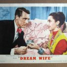 FR15 Dream Wife CARY GRANT 1953 Portrait Lobby Card