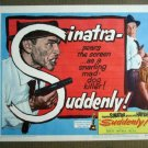 FW42 Suddenly FRANK SINATRA Title Lobby Card FILM NOIR