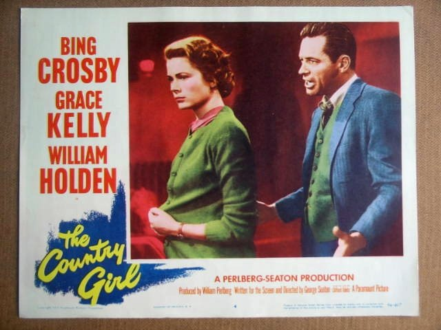 GB31 Country Girl GRACE KELLY/WILLIAM HOLDEN Lobby Card