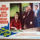 GD30 Country Girl GRACE KELLY/CROSBY/HOLDEN Lobby Card