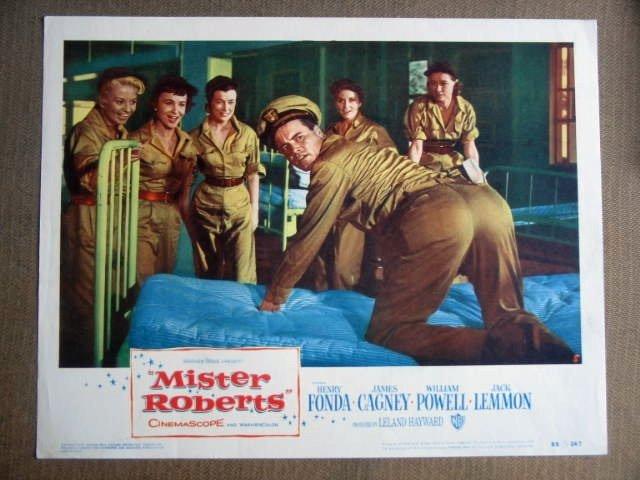 FY20 Mister Roberts JACK LEMMON 1955 Lobby Card