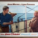 FY27 Sea Chase LANA TURNER/TAB HUNTER Lobby Card