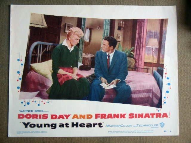 FY41 Young At Heart FRANK SINATRA/DORIS DAY Lobby Card