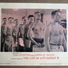 FY14 Girl He Left Behind TAB HUNTER 1956 Lobby Card