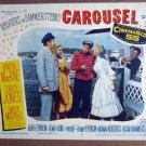 GD26 Carousel SHIRLEY JONES/GORDON MacRAE Lobby Card
