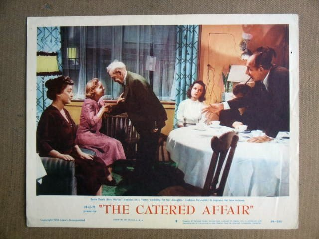 FT11 CATERED AFFAIR  BETTE DAVIS/DEBBIE REYNOLDS Lobby card