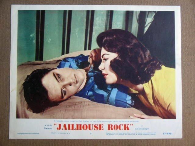 FW24 Jailhouse Rock ELIVS PRESLEY Portrait Lobby Card