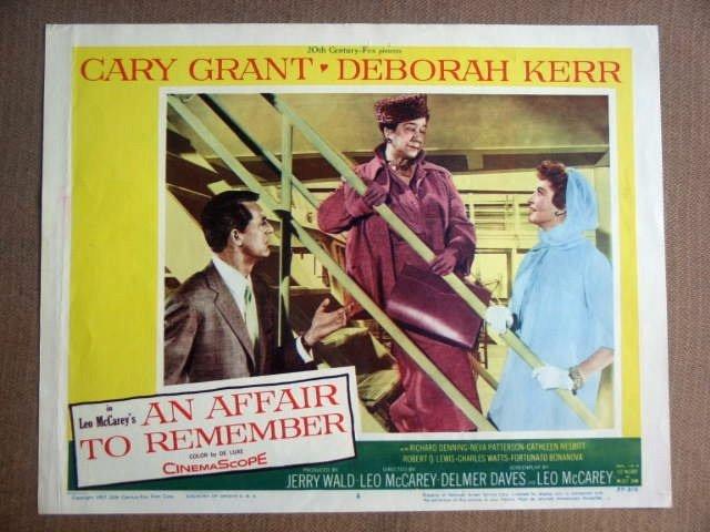 FZ01 Affair To Remember CARY GRANT/D KERR Lobby Card