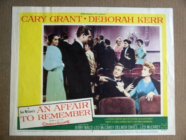 FZ02 Affair To Remember CARY GRANT/D KERR Lobby Card