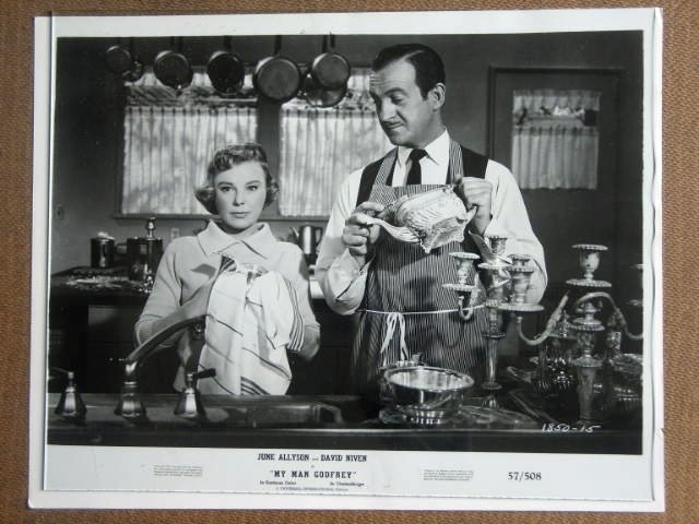 GF26 My Man Godfrey JUNE ALLYSON/D NIVEN Studio Still
