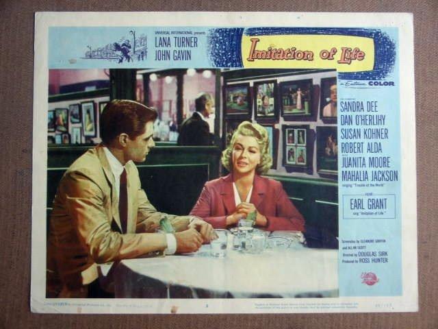 FV19 Imitation Of Life LANA TURNER/J GAVIN Lobby Card