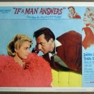 GI20 If A Man Answers SANDRA DEE/BOBBY DARIN Lobby Card