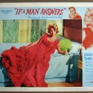 GI21 If A Man Answers SANDRA DEE/BOBBY DARIN Lobby Card