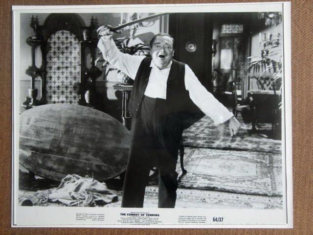 GF20 Comedy Of Terrors PETER LORRE 1964 Studio Still