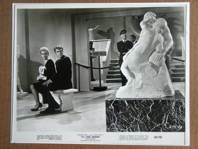 GF23 I'll Take Sweden TUESDAY WELD 1965 Studio Still