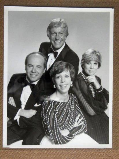 GA10 Carol Burnett Show DICK VAN DYKE TV Press Still