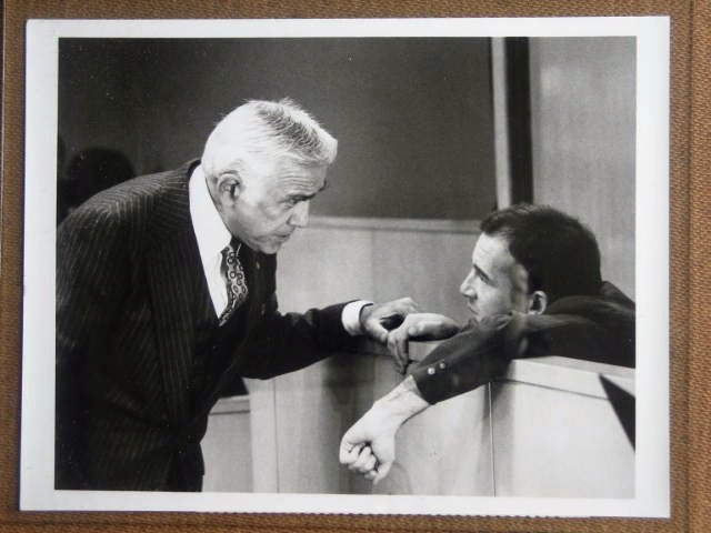 GE36 Trial Lee Harvey Oswald LORNE GREENE TV Still