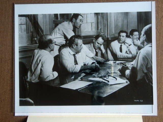 GC14 12 Angry Men HENRY FONDA/LEE COBB TV Press Still