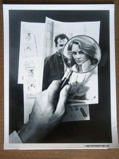 GG44 Moonlighting CYBIL SHEPHERD TV Press Still
