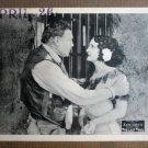 FP23 LAST TRAIL Wallace Beery/Eva Novak Portrait Lobby Card