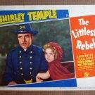 FP25 THE LITTLEST REBEL Original Shirley Temple Lobby Card