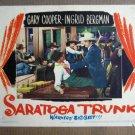 FP34 SARATOGA TRUNK Original Gary Cooper Lobby Card