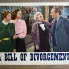 FQ02 Bill Of Divorcement MAUREEN O'HARA 1943 Lobby Card