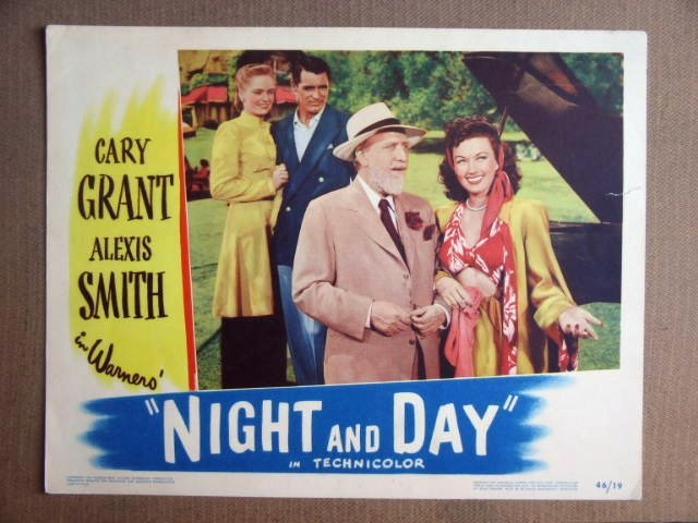 FQ30 Night & Day CARY GRANT/MONTY WOOLEY Lobby Card