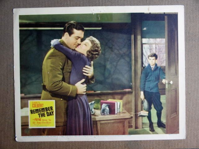 FQ31 Remember The Day CLAUDETTE COLBERT Lobby Card