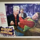 FQ32 Riders Of Deadline WM BOYD/BOB MITCHUM Lobby Card