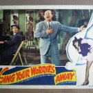 FQ37 Sing Your Worries BERT LAHR/BUDDY EPSEN Lobby Card