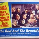 GS06 Bad & Beautiful LANA TURNER/W PIDGEON Lobby Card