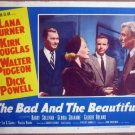 GS07 Bad & Beautiful LANA TURNER/W PIDGEON Lobby Card