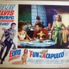 GS13 Fun In Acapulco ELVIS PRESLEY 1963 Lobby Card