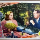 GU07 Bride Wore Red JOAN CRAWFORD/F TONE Lobby Card